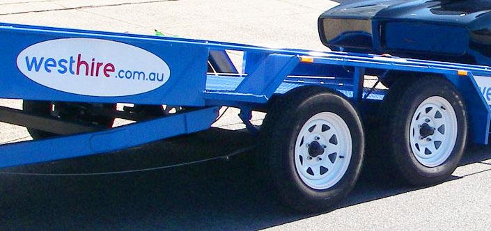 Car Transporter Trailer Hire Hamilton