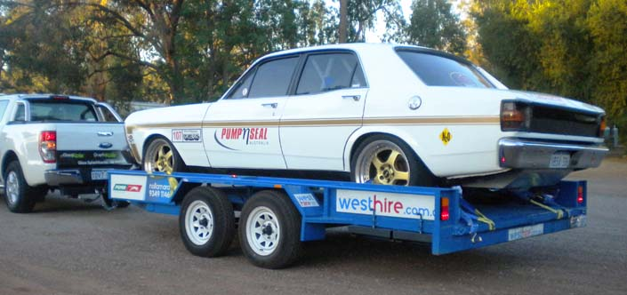 Car Transporter Trailer Hire Hamilton