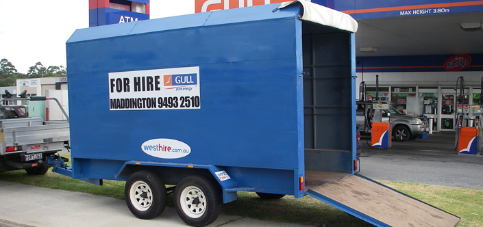 West Hire Trailer Hire Perth
