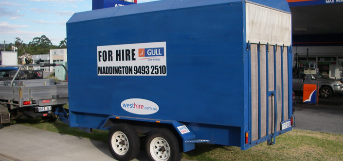 West Hire Furniture Trailer Hire Perth